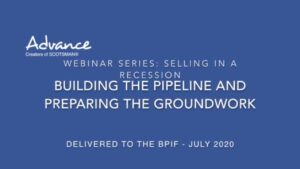 An online sales training webinar for pipeline management skills development